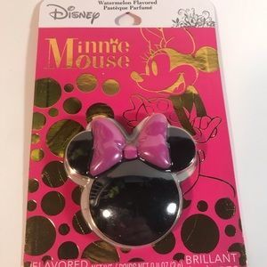 Disney Minnie mouse watermelon flavored lipgloss